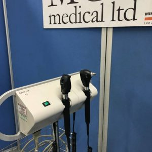Opticlar wall mounted Opthalmascope and otoscope mc medical mike craven medical medical devices medical equipment used medical second hand medical medical components medical spares medical parts