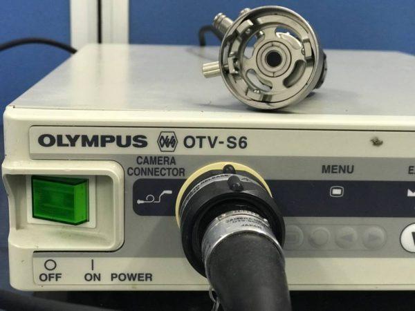 Olympus otv-s6 + AR-T12E Camera mc medical mike craven medical medical devices medical equipment used medical second hand medical medical components medical spares medical parts